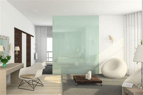 normale luftfeuchtigkeit wohnung glaswand ideen tipps moderne glas elemente in der