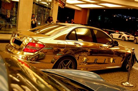 mercedes gold all sports cars 2011