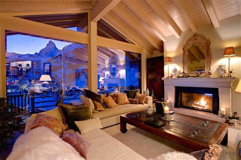catered ski chalet zermatt chalet grace leo trippi