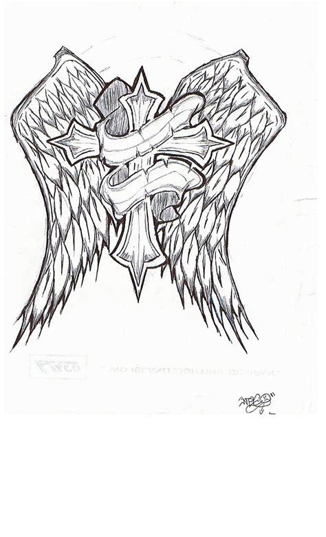 rip cross tattoo designs rip cross by hybridthnkin on deviantart