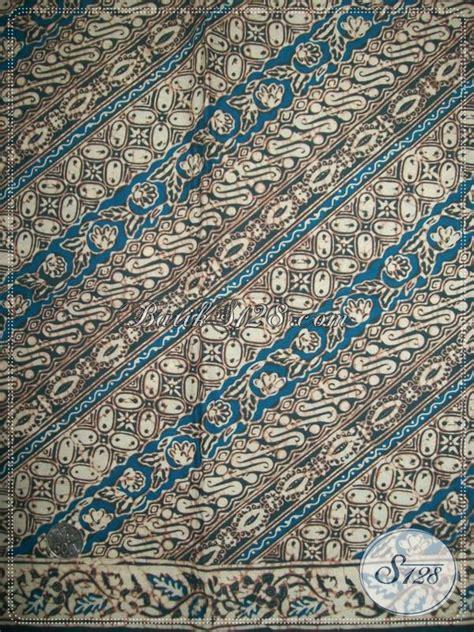 Kain Batik Tulis Warna Alam Parang butik kain batik warna alam motif parang untuk busana pria