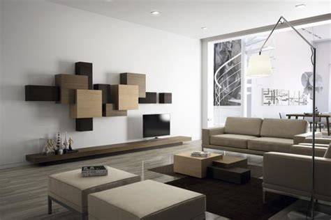 Modernist Interior Design | geometric shapes and supermatism ideas in modern design