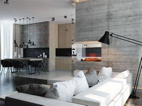 moderne wohnraumbeleuchtung 3 modern homes with amazing fireplaces and creative lighting