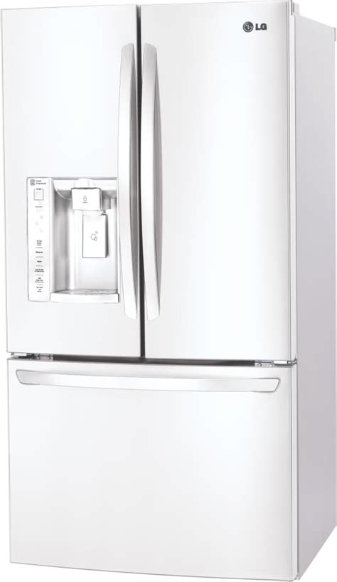Lg 33 Inch Door Refrigerator by Lg Lfxs24623 33 Inch Door Refrigerator With Slim Spaceplus 174 Maker Spillprotector