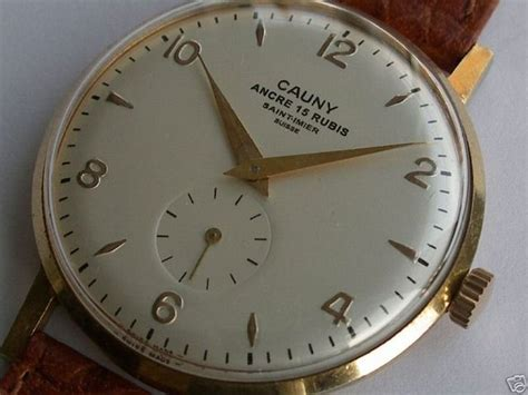 Armbanduhr Englisch by Cauny Prima Vintage Relojes