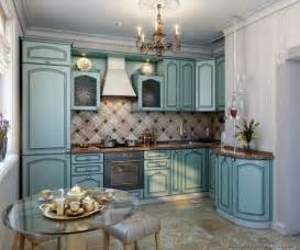 Kitchen Cabinets Blue Pictures Of Kitchens Traditional Blue Kitchen Cabinets