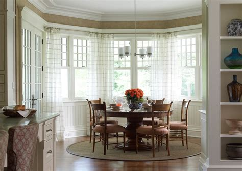 Marvelous Window Treatments For Bay Windows mode San