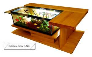 table basse design amazone supreme aquarium vivarium