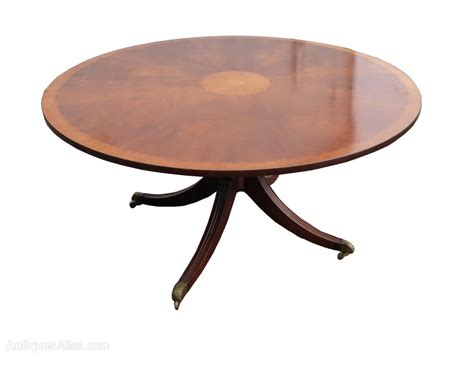 8 seater dining table antiques atlas 5ft round 8 seater mahogany inlaid dining