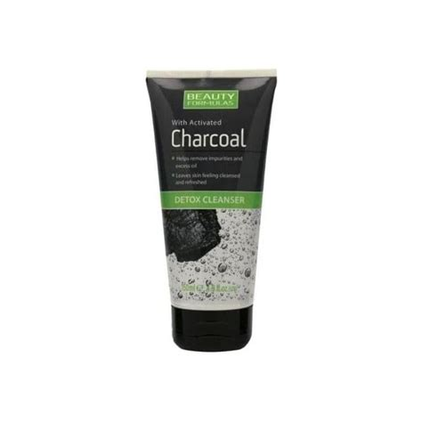Does Activated Charcoal Detox Through Skin by Formulas Activated Charcoal Detox Cleanser 150ml