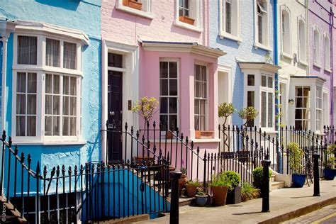 buy house notting hill colourful london houses urban pixxels