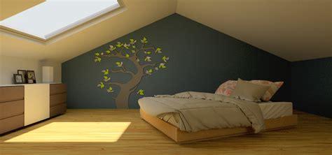räume farblich gestalten beispiele stunning schlafzimmer mit dachschr 228 ge farblich gestalten