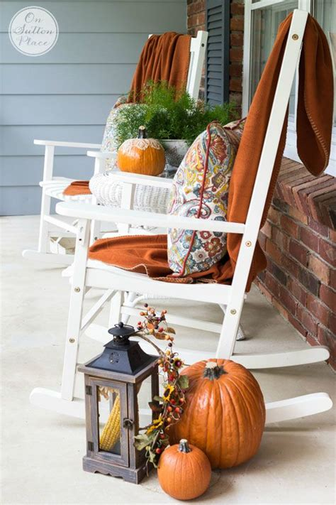 easy cheap fall decorating ideas easy fall porch decor a 5 step process on sutton place