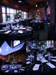 black and white wedding table decoration pictures