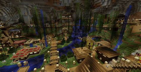 Underground City Minecraft Project