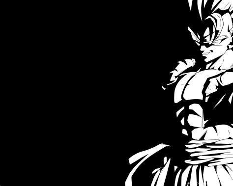 super gogeta black  white  wallpapers  rayzorblade  desktop background