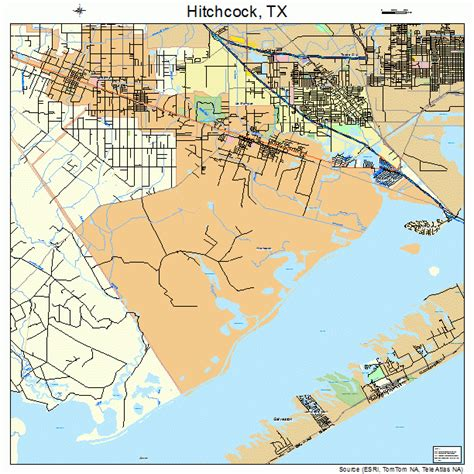hitchcock texas map object moved