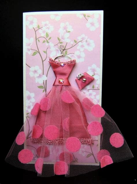 3d Dress Card Template by Creative 3d Dress Greeting Cards The Idea King