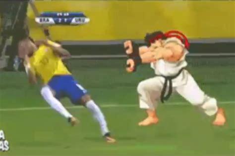 Brazil Soccer Meme - neymar street fighter meme takes over the internet