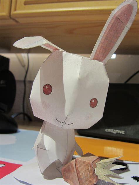 Bunny Papercraft - rabbit papercraft by byakko92 on deviantart
