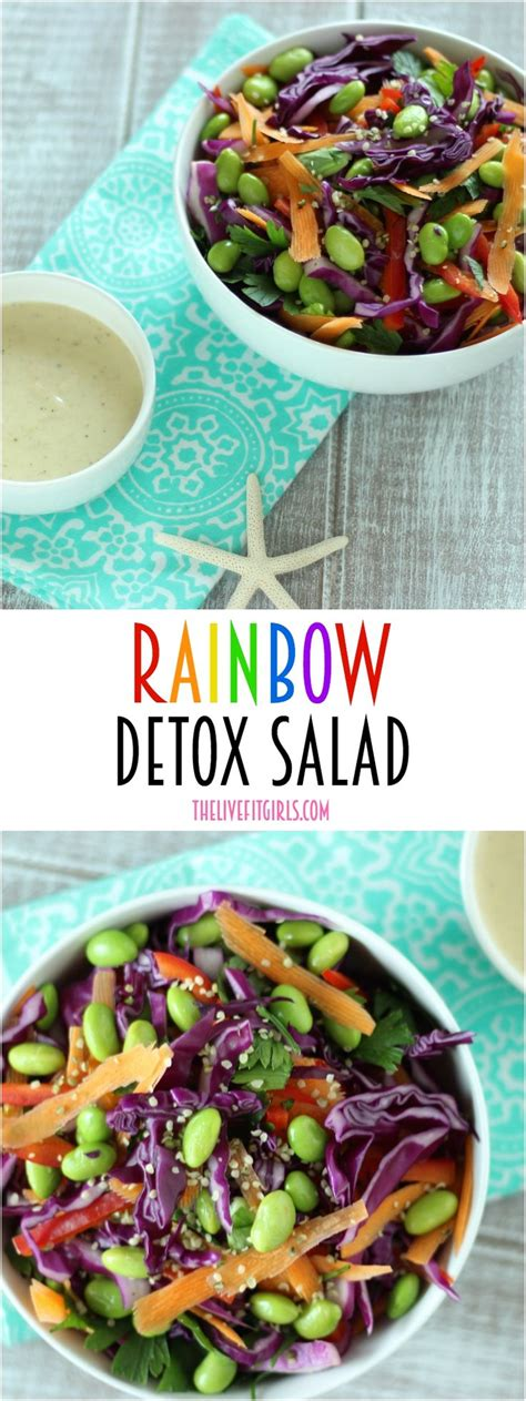 Live Food Bar Detox Salad by 25 Best Ideas About Rainbow Salad On Salad