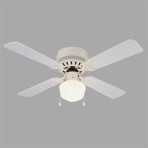 design house millbridge lighting design house millbridge hugger 42 in white ceiling fan