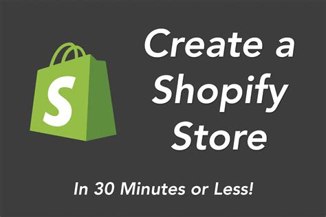 how to create an online store with shopify how to create a shopify store in 30 minutes or less 2016