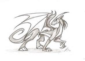 dragon sketch by imaginenationag on deviantart