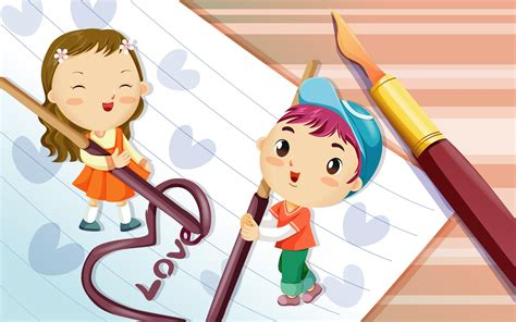 wallpaper of couple cartoon cartoon couple on a notebook wallpaper 8766