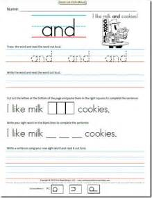 6 best images of free writing worksheets printable