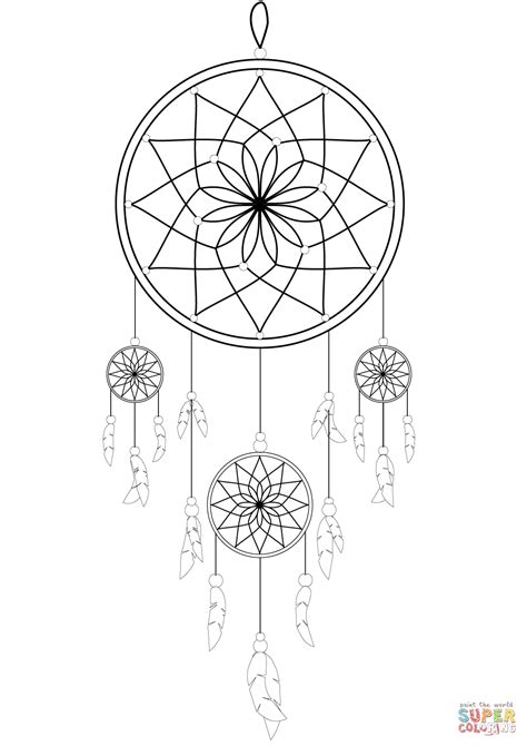 coloring sheets dream catchers dream catcher coloring page free printable coloring pages