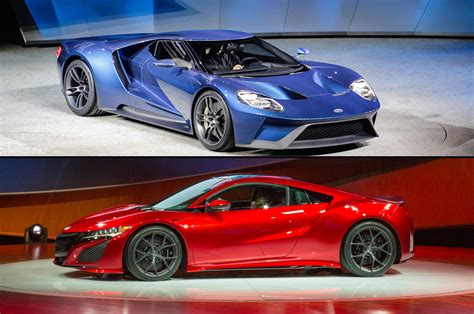 ford gt supercar debuts  detroit