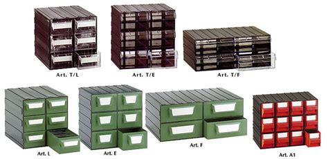 cassettiere componibili in plastica jollyplast cassettiere componibili trasparenti e colorate