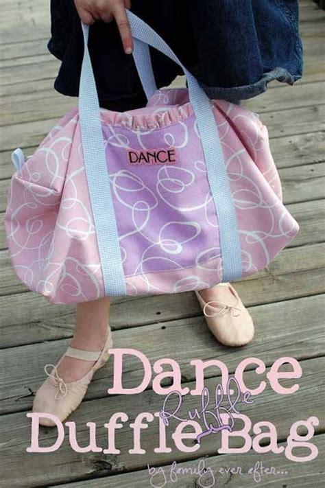 tutorial dance sugar free free bag pattern and tutorial dance duffle ruffle bag