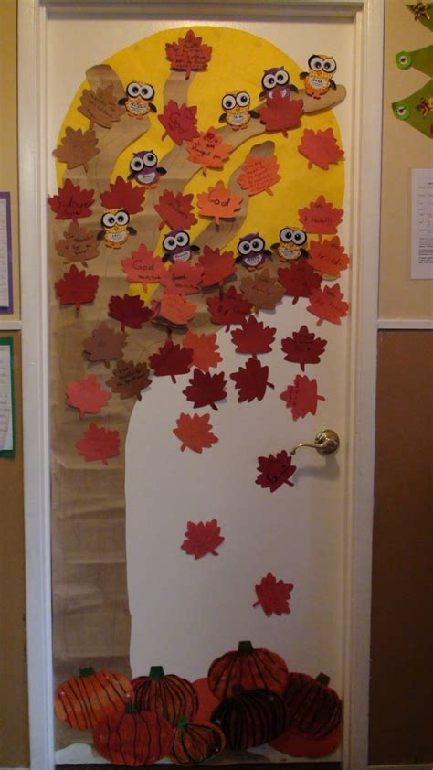 fall door decoration ideas fall door decor library bb display ideas