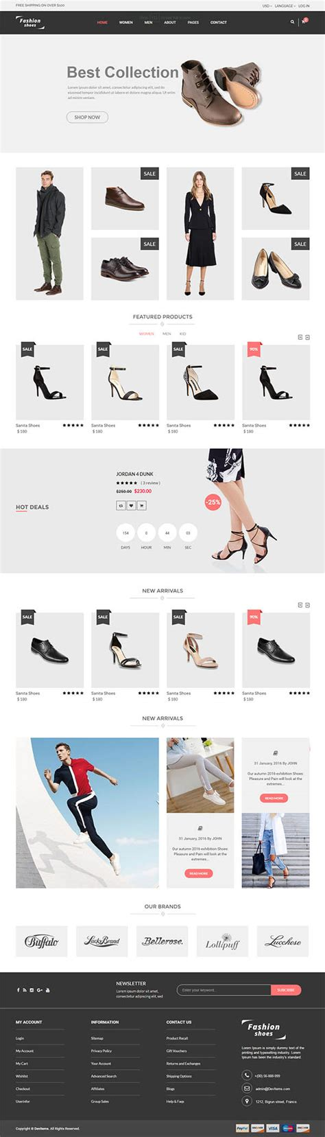 fashion ecommerce templates 12 fresh responsive html5 web templates for designers