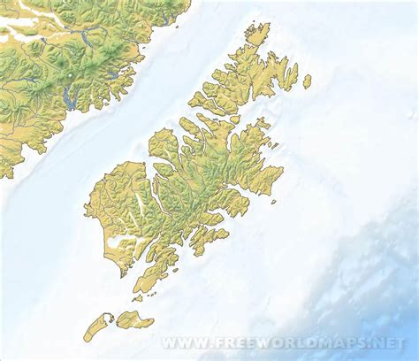 kodiak island maps