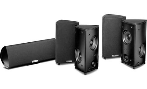 polk audio rm95 home theater speaker system 4 compact