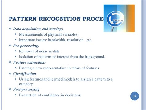 pattern recognition image processing ppt pattern recognition
