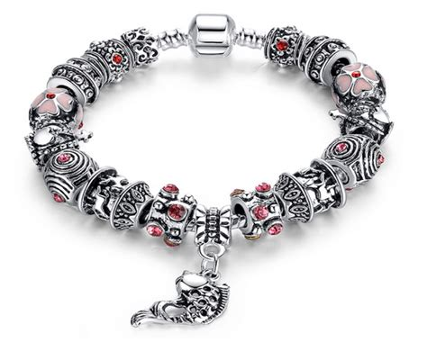 10 for a pandora inspired multi charm bracelet buytopia