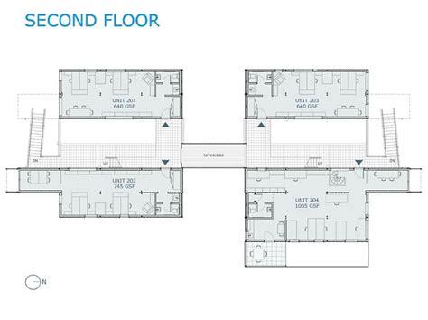 obra homes floor plans box office edificio de oficinas con 32 contenedores fotos y planos