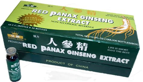 Panax Ginseng Extractum panax ginseng extract box of 30