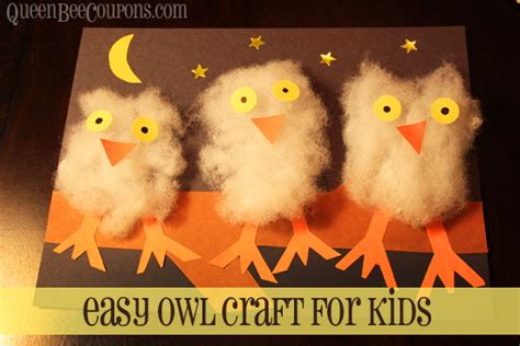 easy owl crafts for 12 of our favourite fall crafts adventures with four