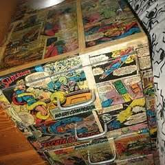 Decoupage Bedside Table - decoupage drawers 183 a bedside table 183 decorating on cut