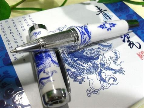 blue and white porcelain ls china blue white porcelain pen china promotion gift