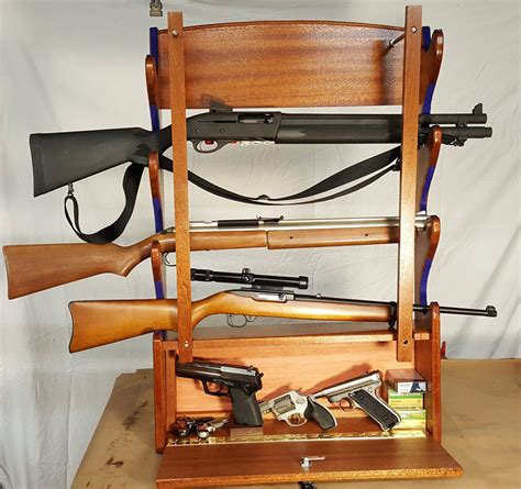 Wall Hanging Gun Rack by Wall Mounted Gun Rack By Woodwrecker Lumberjocks