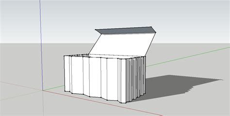 Sketchup Papercraft - arch1390 danny huynh digital models made in sketchup