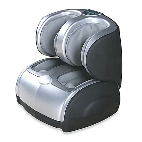 bed bath beyond massager buy icomfort 174 ic0912 reclining calf and foot massager from