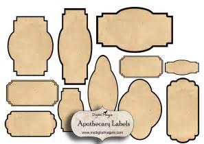 Antique Labels Template by 7 Best Images Of Free Blank Printable Vintage Jar Labels