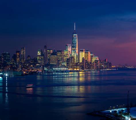 imagenes 4k new york new york skycrapper and buildings lights hd 4k wallpaper